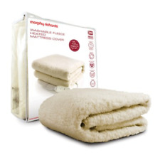 Morphy Richards Washable Extra Thick Comfort Fleece Heated Mattress Cover