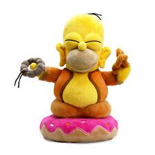Kidrobot Simpsons Homer Buddha 10 Inch Plush Figure NEW Toys Plushies