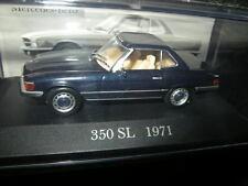 1:43 Ixo mercedes-benz 350 sl r107 1971-1981 azul/Blue en OVP