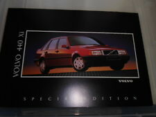 VOLVO 440   Xi SPECIAL EDITION SALES BROCHURE INCLUDING PRICES EARLY 90's
