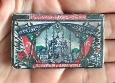 Collectible Antique Souvenir Ottoman Empire Turkish Cigarette Rolling Paper Book