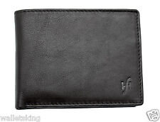 Starhide Mens Soft Genuine Leather Gift Boxed Trifold Coin Pocket Wallet 1217