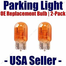 Parking Light Bulb 2-pack OE Replacement Fits Listed Ford Vehicles - 7444NA