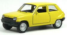 NEU: Renault R5 Klassiker Modellauto Spritzguss ca. 11cm gelb von WELLY