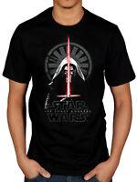 Star Wars The Force Awakens Episode VII t shirt black official logo S M L BNWT