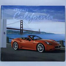 Ferrari California Brochure,Book Hardcover, 2010