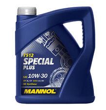 5 L MANNOL special plus 10w-30 API SL/CF Huiles De Vidange D'Huile 10w30 ACEA a3/b3 GM Jeep