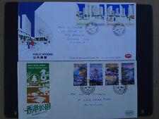 Hong Kong 1980s 2 x First Day Covers,one Hong Kong to Australia