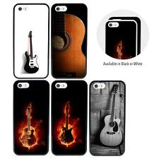 Guitarra Parachoques Funda Para Apple IPHONE 5 5s Se 5se 6 6s 7 8 Más 10 X XR XS