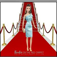 On The Red Carpet Barbie Doll Green Dress For The Adult Collector, Mattel...NRFB