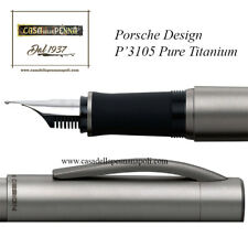 Porsche P3105 Pure Titanium - penna stilografica OFFERTA