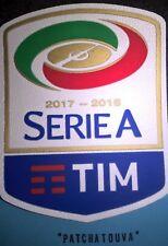 Patch Italia Serie A  maillot de foot Napoli Roma Inter Milan AC saison 17/18