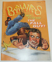 Bananas Magazine The Fall Foul Guy No.60 NO ML 102414R