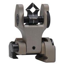 Troy SSIG-DOA-RFFT-00 Micro Folding Rear Flip Up Di-Optic Back Up Battle Sight