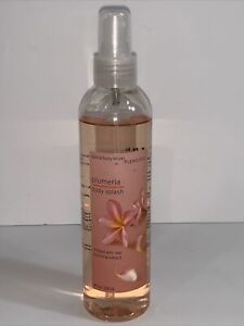 Bath & Body Works Original Plumeria Body Spray Splash Mist 8 fl oz Infused