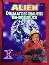 X RATED #13 ALIEN TERROR HORROR BOOKLET