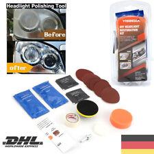 ReparaturSatz Scheinwerfer Reinigung Aufbereitung für Scheinwerfer Politur Set