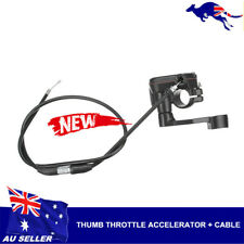 Thumb Throttle Accelerator Brake Lever Cable For 50cc 70 90 110 125cc ATV Quad
