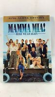 Mamma Mia! Here We Go Again (DVD, Sing Along Edition + Theatrical) Slipcover#C3B