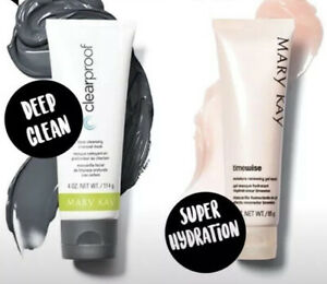 Mary Kay Clear Proof® Deep-Cleansing Charcoal Mask & Moisture Renewing Mask
