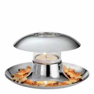 BNIB PHILIPPI Silver Callampa Illuminated Bowl @STUNNING@