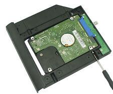 2nd HDD SSD hard drive caddy For Lenovo Thinkpad E550c E555 E560 E565 with bezel