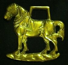 Small Freestanding Harness Horse Horse Harness Brass England Wow Your Walls!