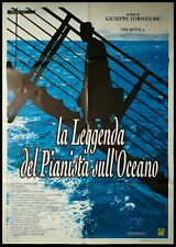 "THE LEGEND OF 1900 Original Movie Poster 39x55"" 2Sh Italian TORNATORE TIM ROTH"