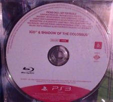 ICO and & Shadow of the Colossus  PS3 (RARE PROMO)