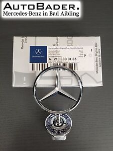 Original Mercedes-Benz Stern Motorhaube W202 W203 W210 W211 W220 *A2108800186*