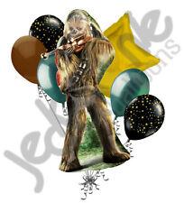 7 pc Chewbacca Star Wars Balloon Bouquet Party Decoration Happy Birthday Super