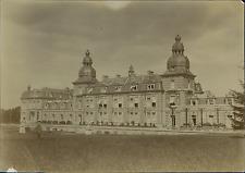 Belgique, Château à identifier  Vintage citrate print Tirage citrate  9x12