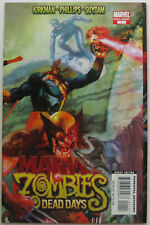 Marvel Zombies: Dead Days #1 (Jul 2007, Marvel), NM-MT, early days of the plague