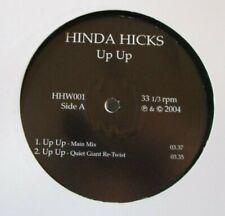 """HINDA HICKS ~ Up Up ~ 12"""" Single"""