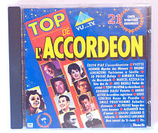 CD ALBUM ACCORDEON / TOP DE L'ACCORDEON VOL.1 - VU A LA TV TF1 EMI IBACH