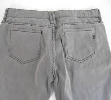 Ben Sherman Siouxsie Jeans 32 x 32 Skinny Gray Drainpipe Zipper Ankle