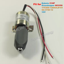 1753ES-12E6ULB1S1 Solenoid Valve SA-3786-12 12V for Kubota 21HP 721D2 Mower