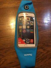 Blue Sports Running Workout Waist Bag iPhone 6