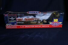 Die Cast Racing Champions Gold Chase 50TH ARMY Dragster 1:24 Schumacher 1/1000