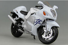 Maisto 1/12 Suzuki Hayabusa Diecast Motorcycle Model Collection KING OF SPEED