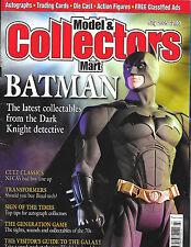 MODEL & COLLECTORS MART Batman Cover JULY 2005 Dark Knight TRANSFORMERS NECA 70s