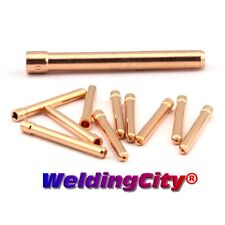 "WeldingCity® 10-pk Tig Welding Collet 10N24 3/32"" for Torch 17/18/26 