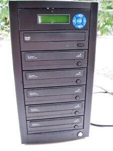 Aleratec Super WriteMaster 5-at-Once 1:5 DVD Duplicator VG condition