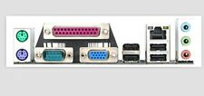Gigabyte I/O IO Shield backplate GA-G41M-Combo GA-G41MT-S2PT G41MT-ES2L #G652 XH