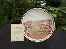 New listing 1997 Royal Doulton 'History Of The Ashes' Cricket Collector Plate Boxed