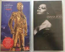 DIANA ROSS One Woman The Video Collection - MICHAEL JACKSON History On Film II
