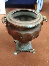 Antique tea Urn copper & Bronze C1840