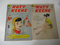 Katy Keene Comic Book Lot Vintage Archie Sexy Funny Fashion Glamour 1961