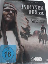 Indianer Box XXL 9 Filme - Daniel Boone, letzte Mohikaner, Wyoming, Santa Fe