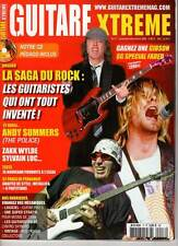 """GUITARE XTREME #17 """"Police/A.Summers,Z.Wylde,Saga Guitar Heroes"""" (REVUE)"""